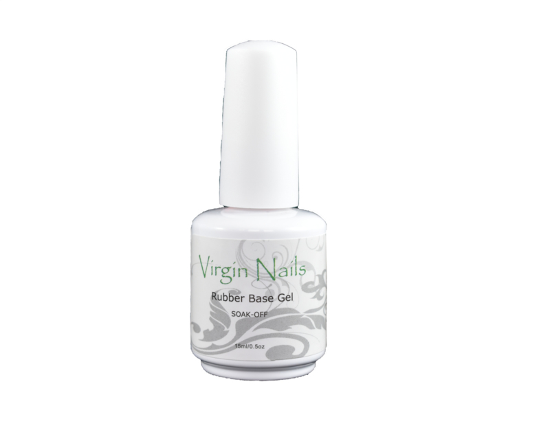 "Virgin Nails Rubber Base Gel ""Pink"""