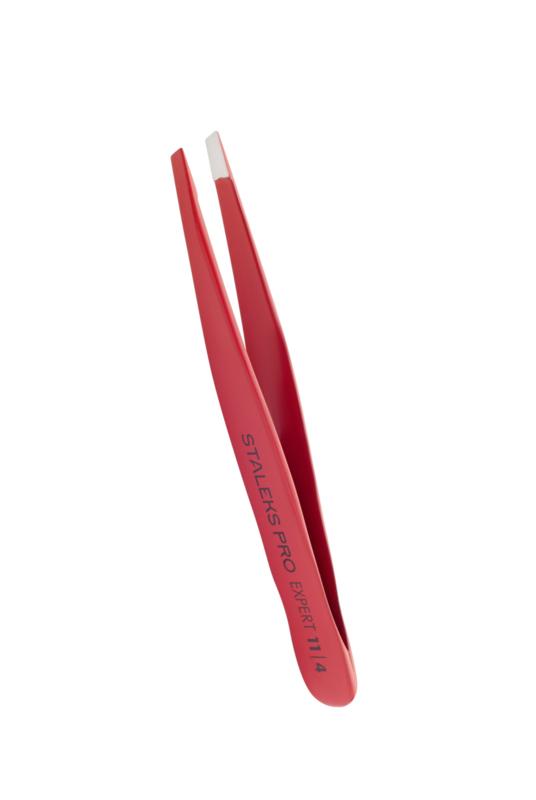 Staleks Expert 11 Type 4 eyebrow tweezer