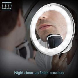 Flexibele 10 X Vergroot Spiegel met LED-verlichting