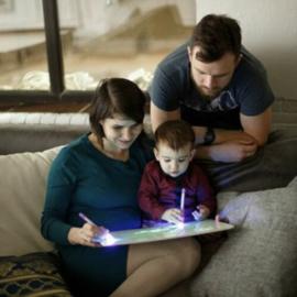 Magisch Tekenbord - Tekenen met licht