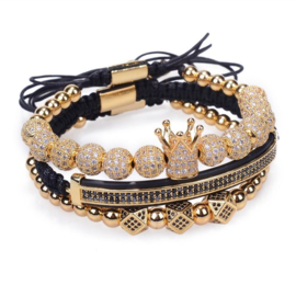 Gold Stack Luxe Armband
