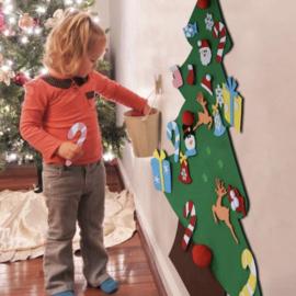 DIY - Vilten Kinder Kerstboom