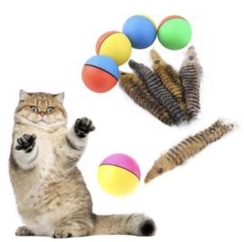 Bewegende Wezel - Kattenspeelgoed