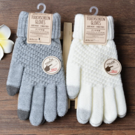 Wollen Touchscreen Handschoenen