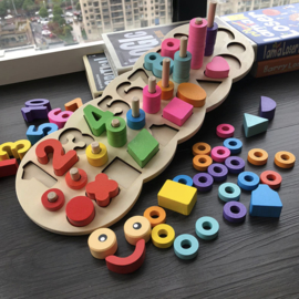 Educatief Speelbord - Basswood