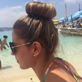 Magische Haarstrip - Glamourbun