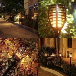 Solar Flame - LED Fakkel op Zonne-energie