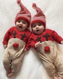 Schattig Rendieren Kerstpakje