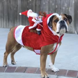 Kerst Kostuum - Honden Kerstman