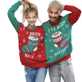 Twins Kersttrui - Samen Één