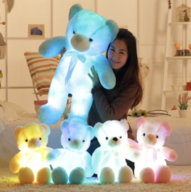 LED Teddy Beer
