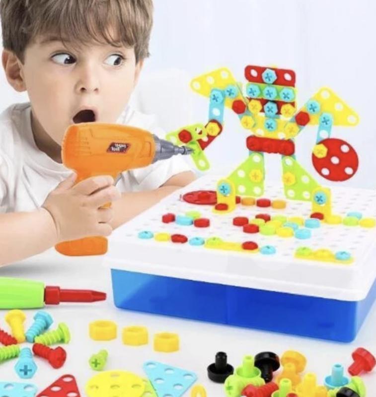 Boormachine Puzzle Box - 131 Stukjes