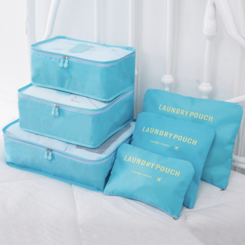 Luxe Bagage Organizer - 6-Delig