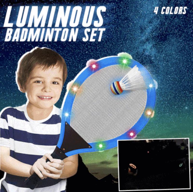 Badmintonset Met LED Verlichting