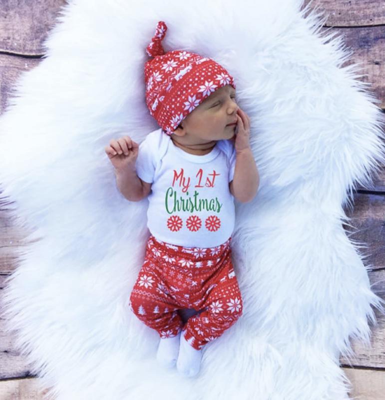 Baby's Eerste Kerst Pakje - Voor jongen/meisje