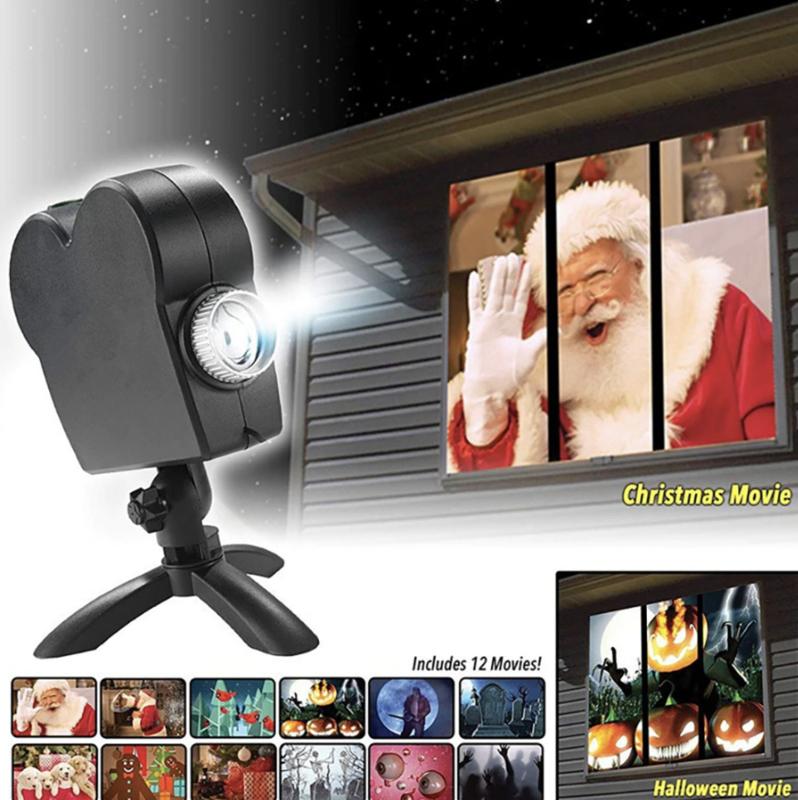 Santa Beamer - Creëer een gezellige kerstsfeer