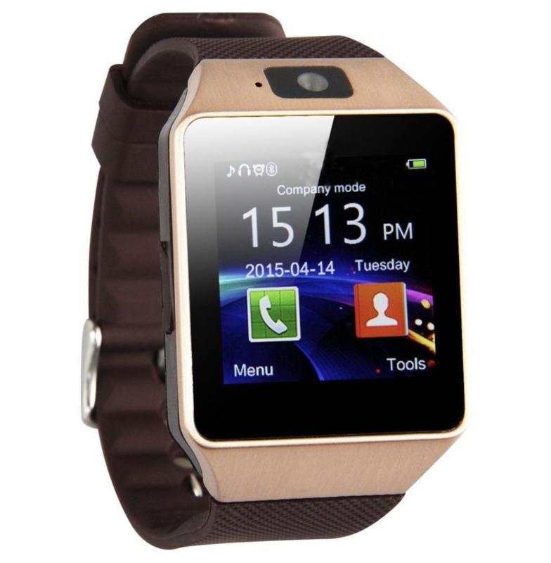 The Golden Smart Watch