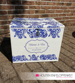 Delfts blauw Memory Box