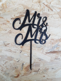 Caketopper Mr&Mrs