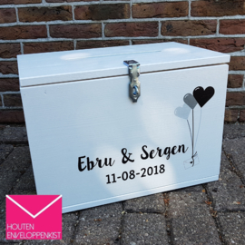 Balloon mail print Memory Box