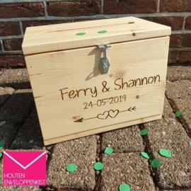 Loved forever engraved Memory Box