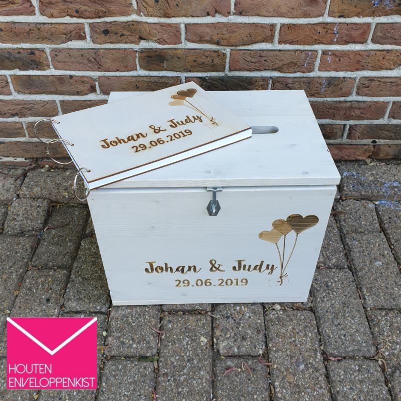 Balloon mail engraved Memory Box