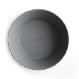 Mushie kommen set 2 stuks - Smoke