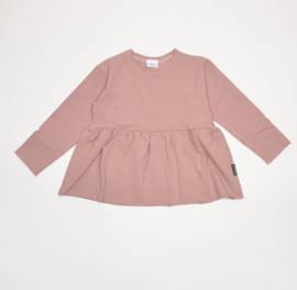Flare top - Dusty pink