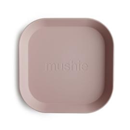 Mushie borden set 2 stuks - Blush