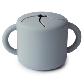 Mushie siliconen snack cup - Stone