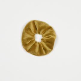 Scrunchie - Velvet gold