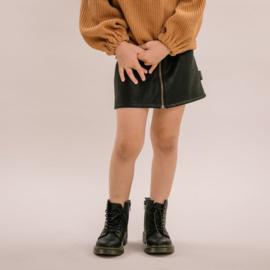 Zipped skirt - Vintage black