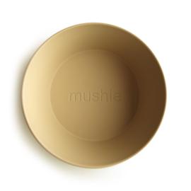 Mushie kommen set 2 stuks - Mustard