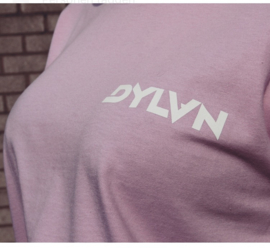DJ DYLVN -  PINK/LILA T-SHIRT