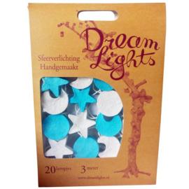 DreamLights, lichtsnoer maan,hart,ster JONGEN SB-20