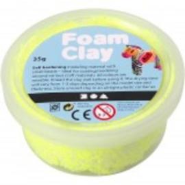 Foam Clay glitter geel - 35gr