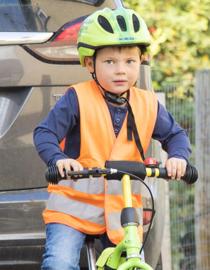 Fluo vestjes voor kinderen (geel/oranje)