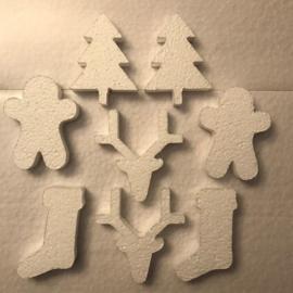 Kerstmix - 8 mini figuurtjes