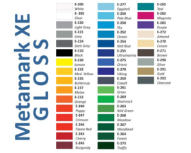 Startpakket Vinyl - Glans --> 41 kleuren - 20x30,5cm