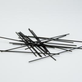 Geurstokjes zwart - 15cm