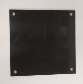 Redbond - zwart - 20x20cm