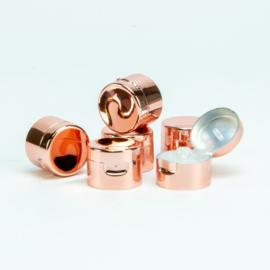 Rosé gouden klapdop voor hand lotion 50ml