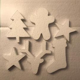 Kerstmix - 6 figuurtjes
