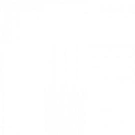 Penstick statische raamfolie wit - 30cmx1m