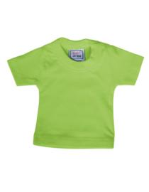 Mini t-shirt (zonder hanger) - lime green