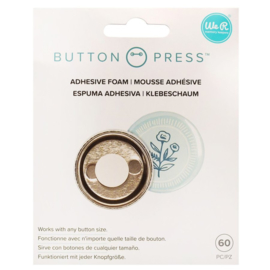 Button Press Adhesive Foam