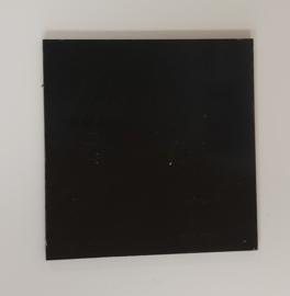 Redbond - zwart- 10x10cm