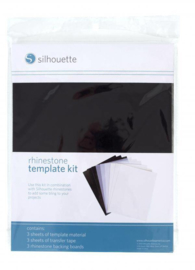 Silhouette Rhinestone Template Material Set