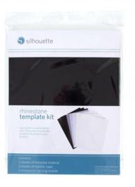Silhouette Rhinestone Template Material Set