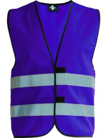 Fluo vestjes voor kinderen (kleuren)